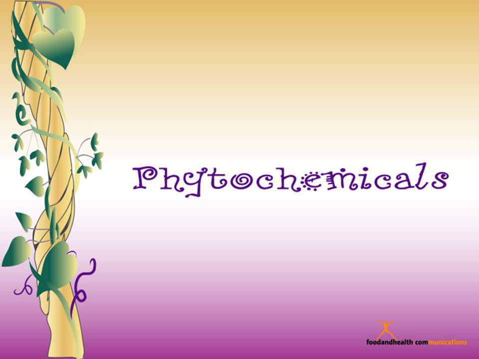 Welcome to our show about phytochemicals