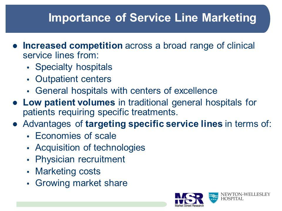 Importance of Service Line Marketing