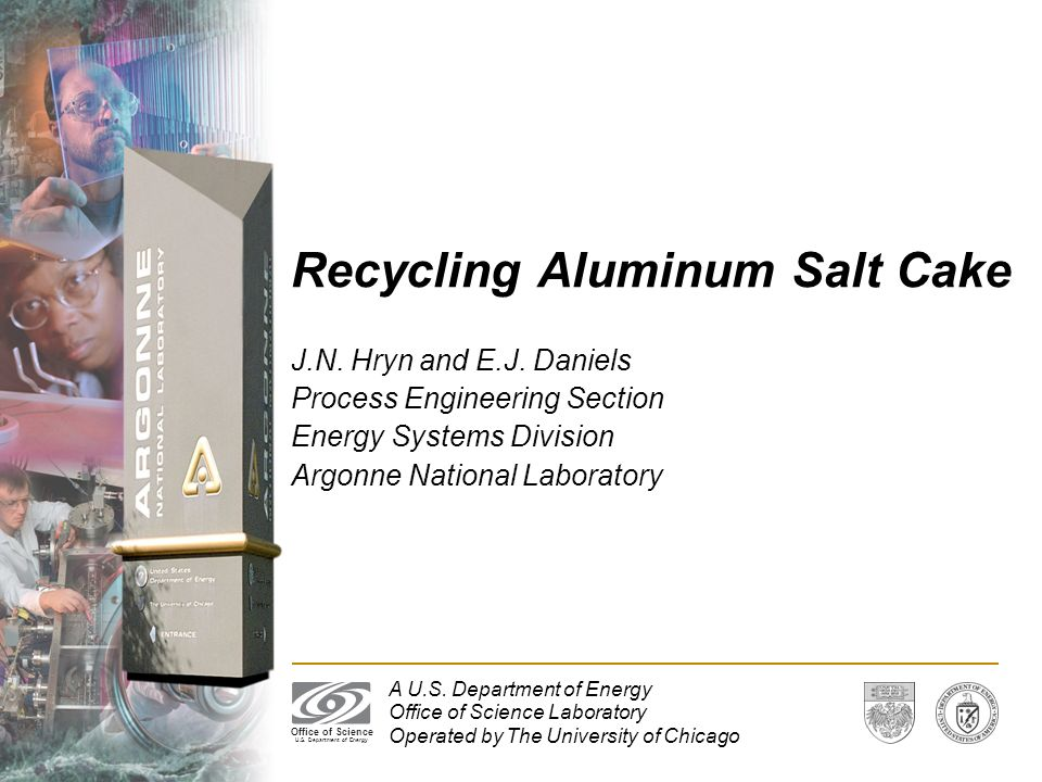 Recycling Aluminum Salt Cake