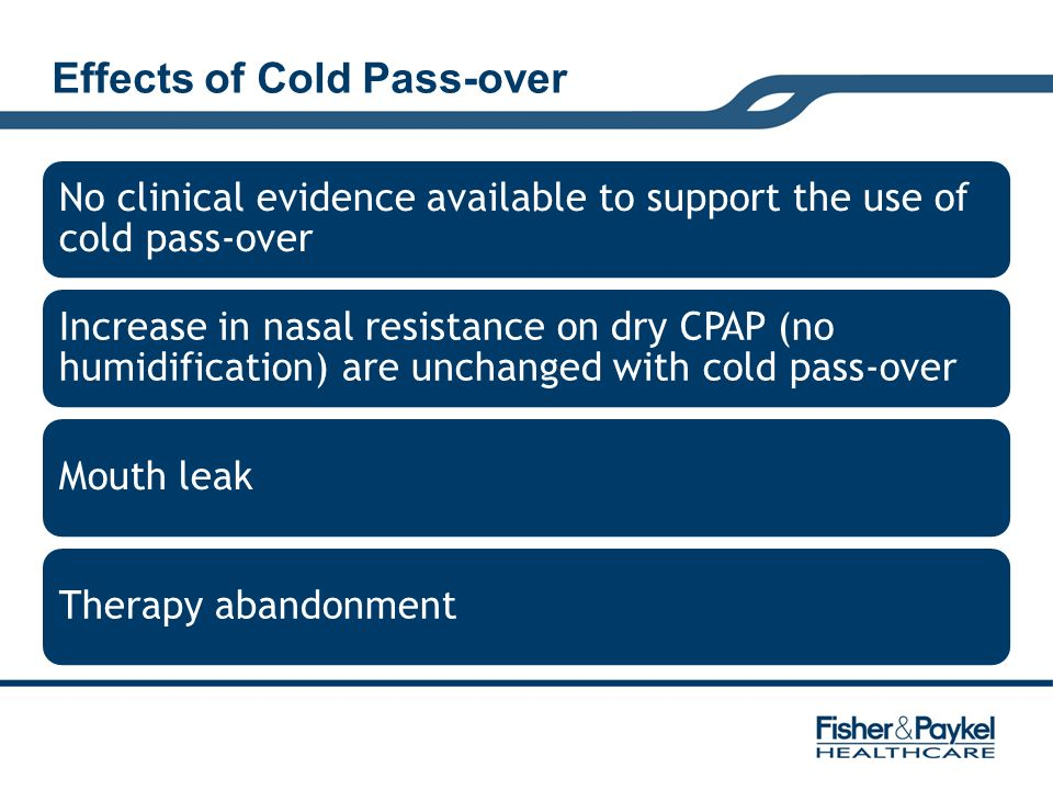 Effects of Cold Pass-over