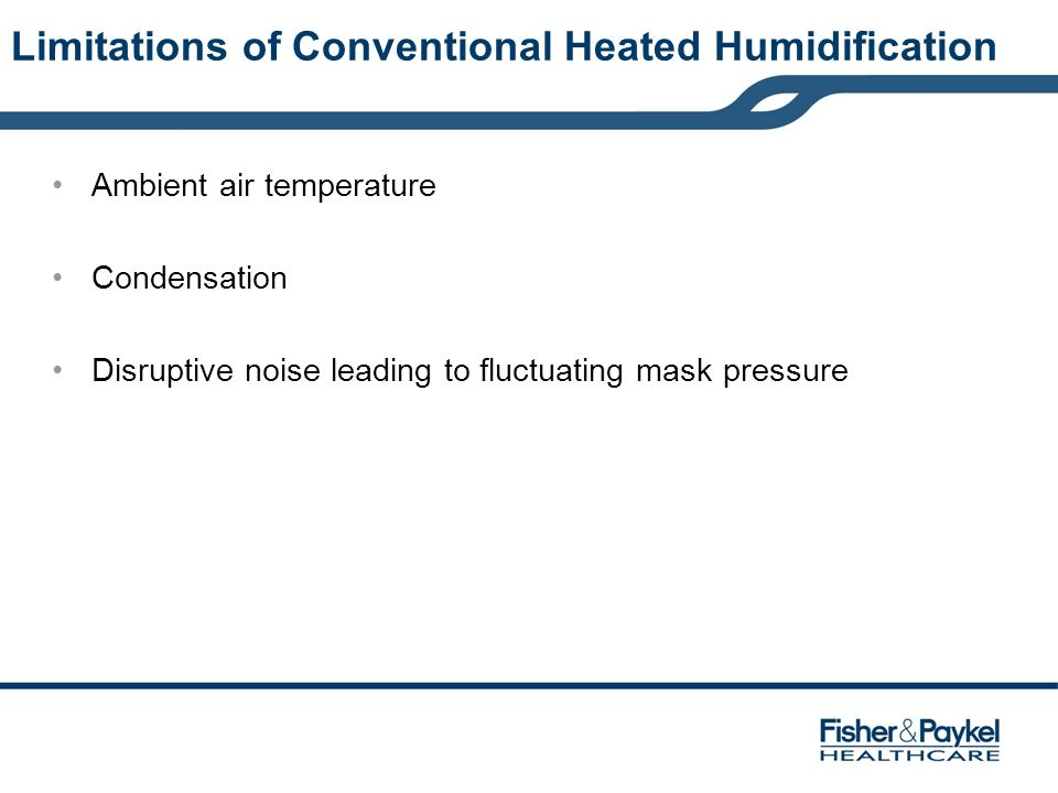 Limitations of Conventional Heated Humidification