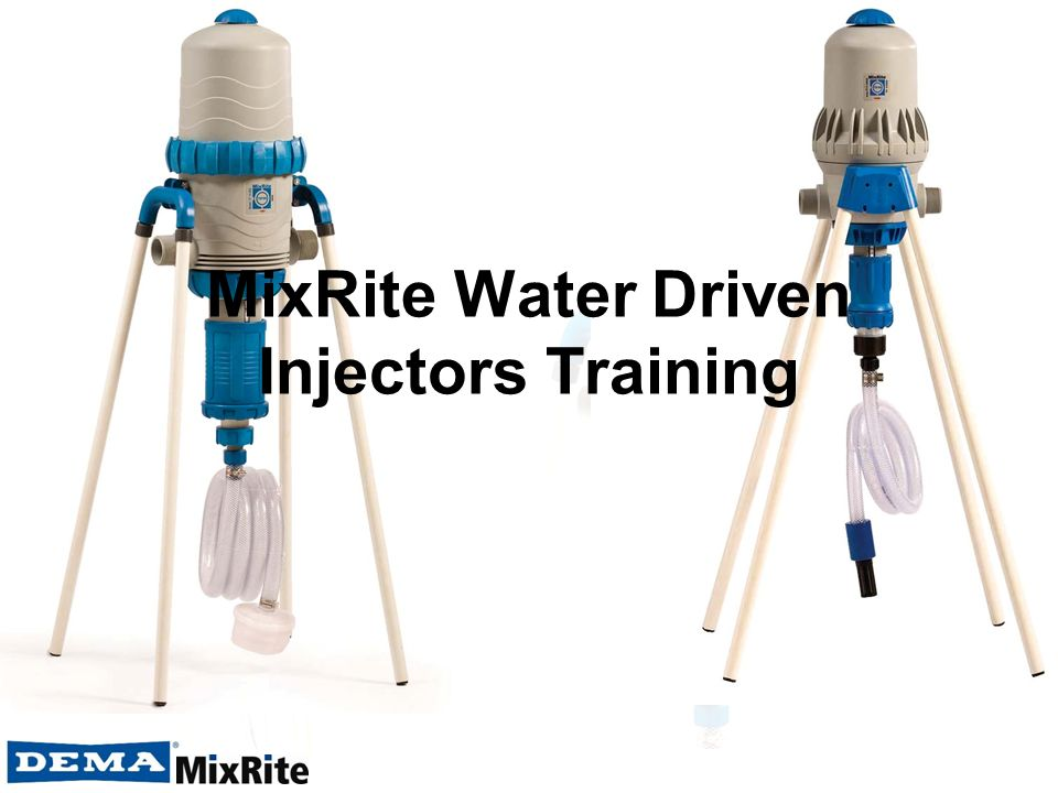 MixRite Water Driven Injectors Training