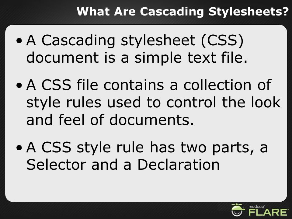 What Are Cascading Stylesheets