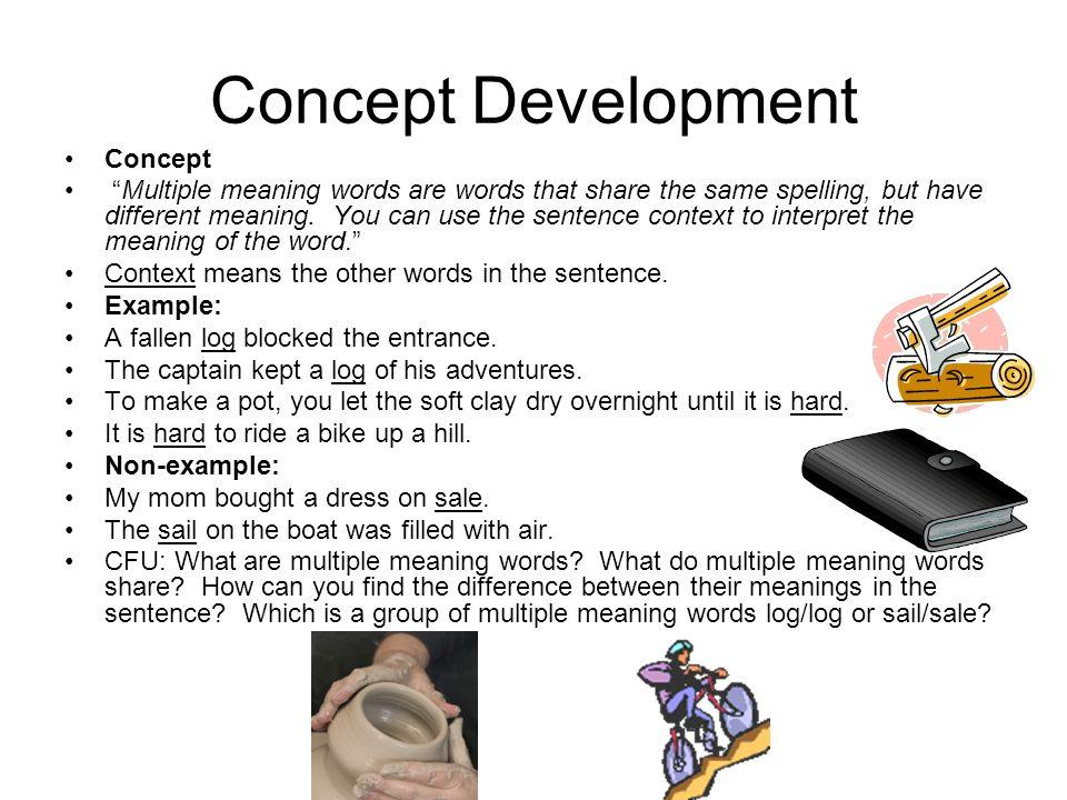 Concept Development Concept