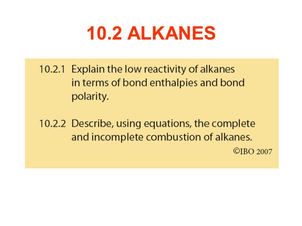 10.2 ALKANES