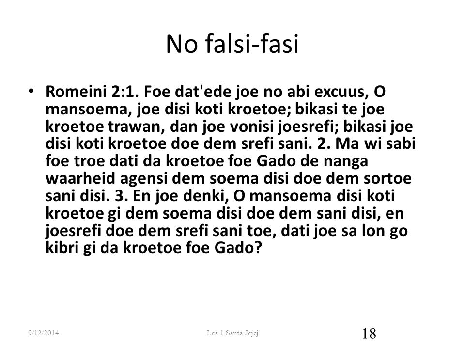 No falsi-fasi