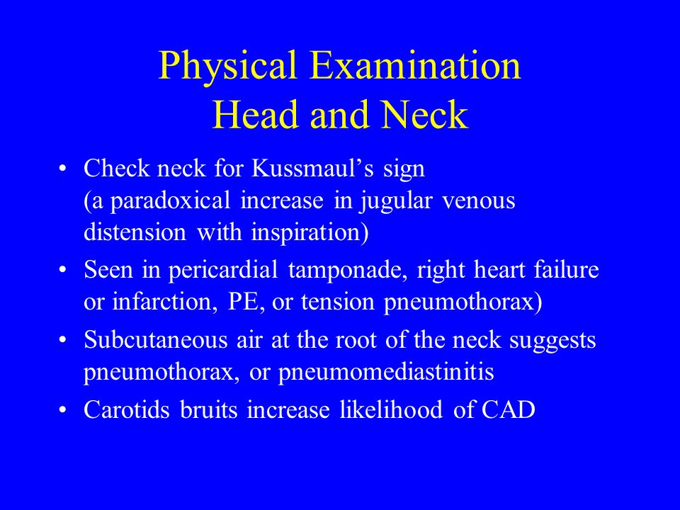 Physical Examination Head and Neck