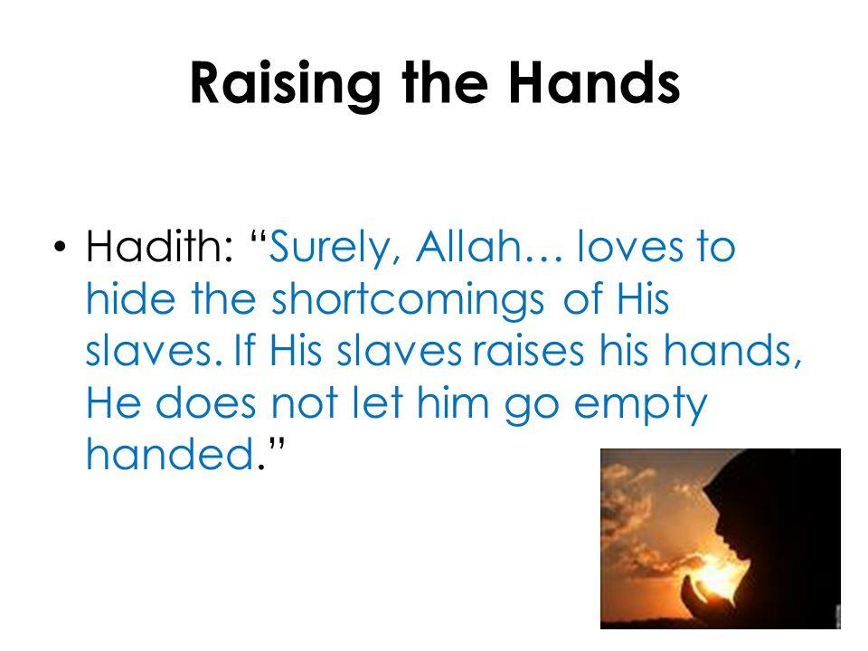 Raising the Hands