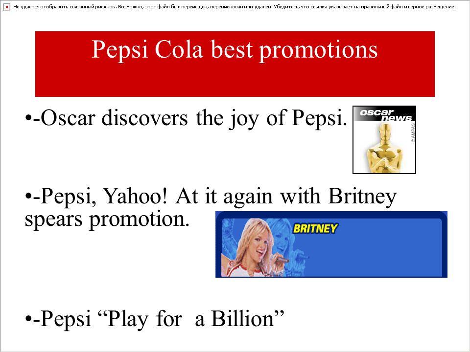 Pepsi Cola best promotions