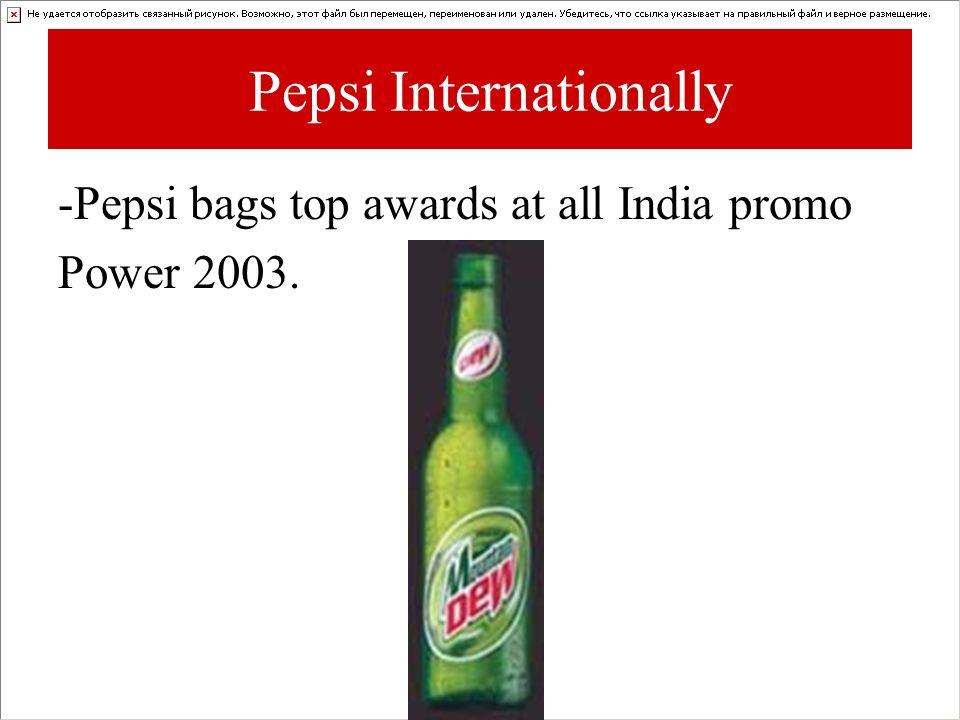Pepsi Internationally