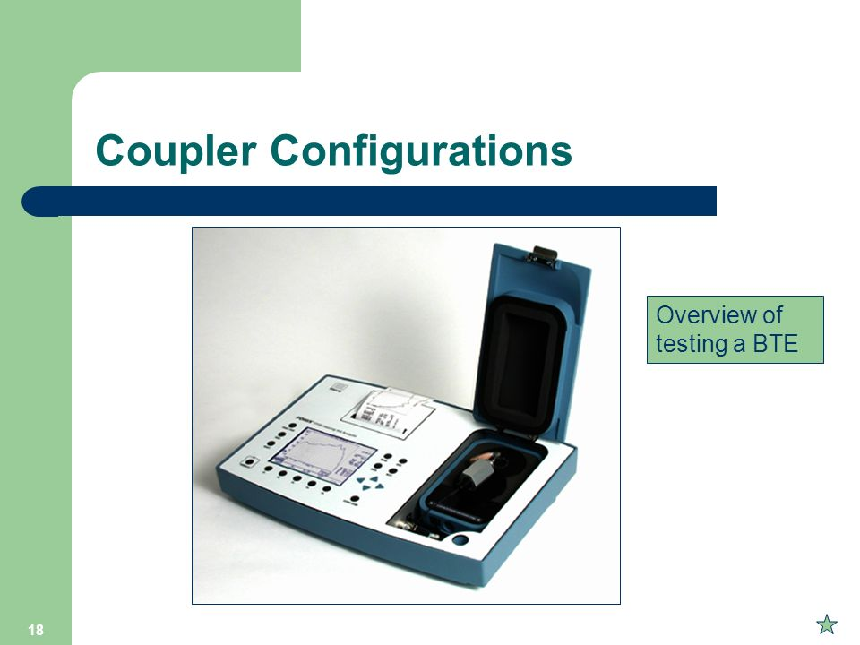 Coupler Configurations