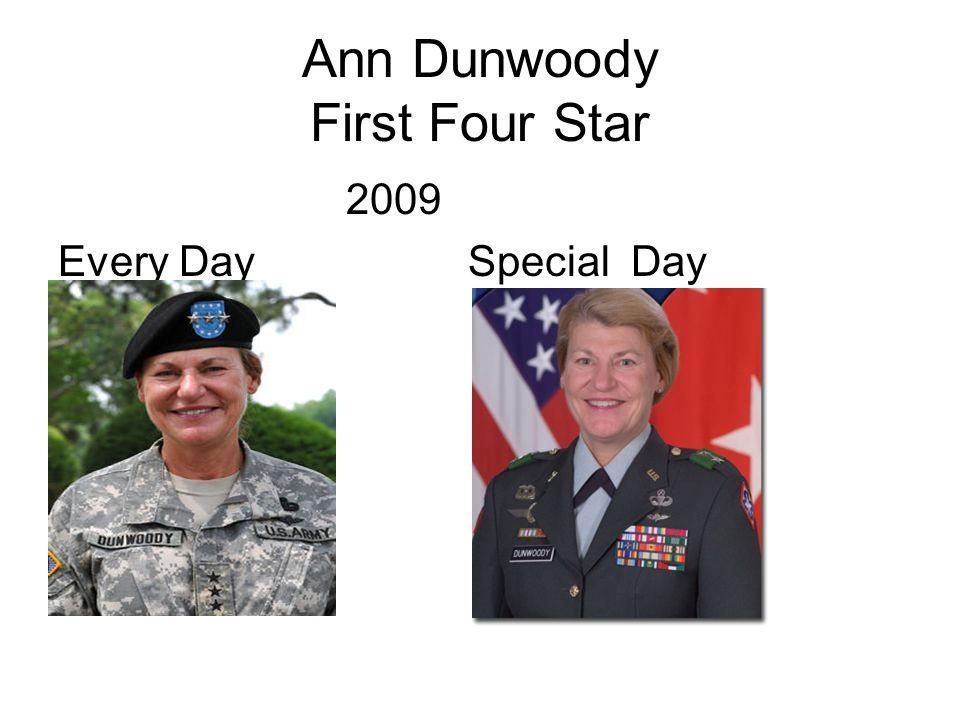 Ann Dunwoody First Four Star