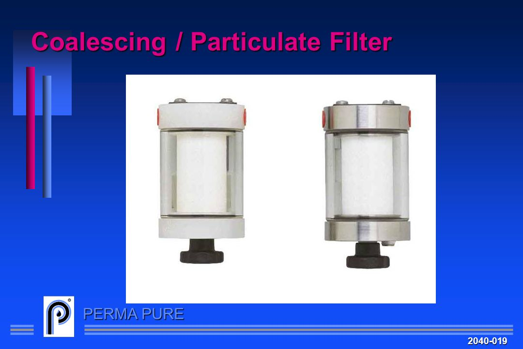 Coalescing / Particulate Filter