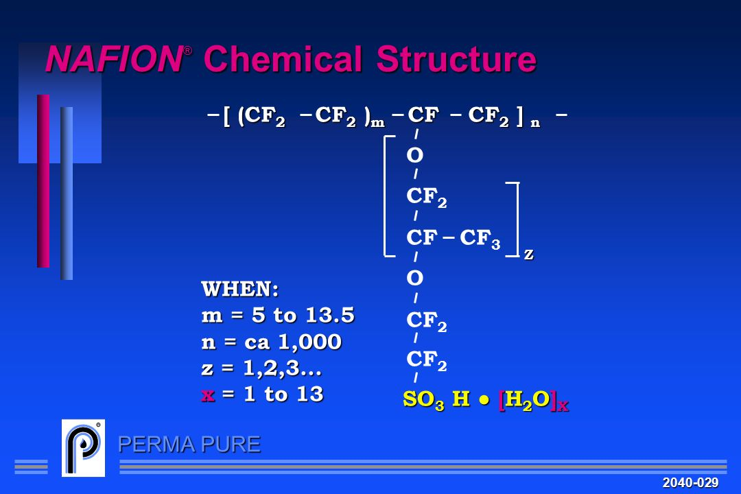 NAFION® Chemical Structure