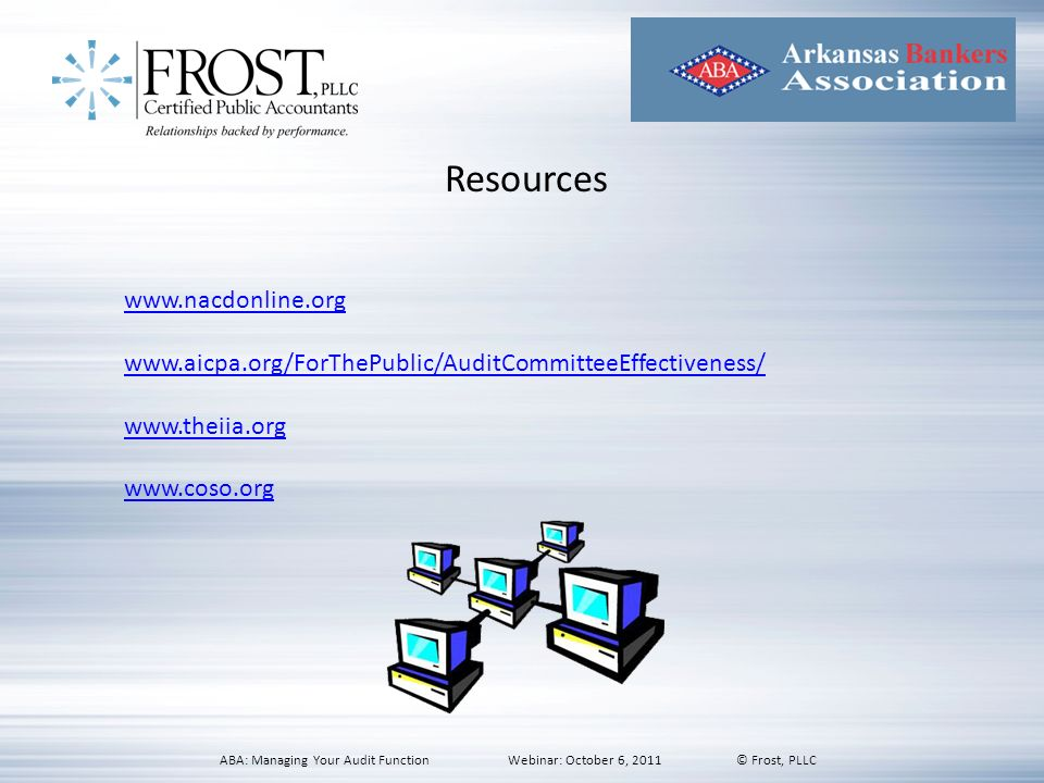 Resources www.nacdonline.org