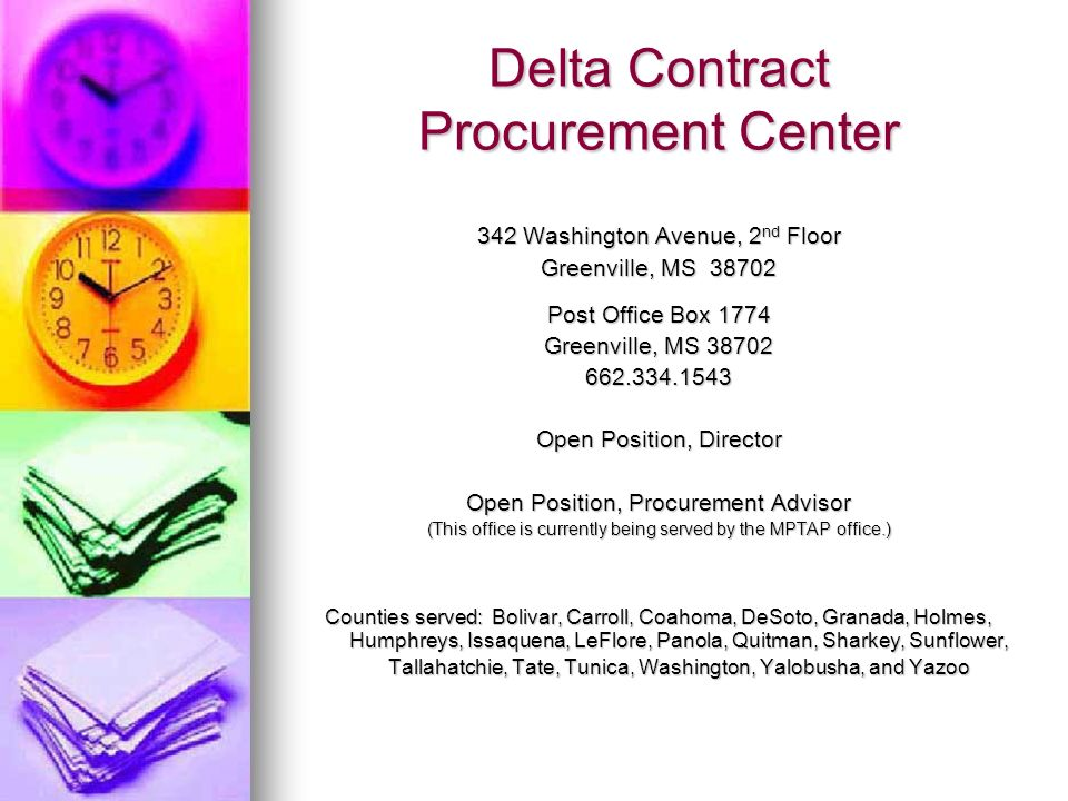 Delta Contract Procurement Center