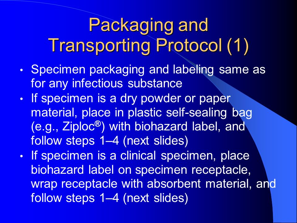 Packaging and Transporting Protocol (1)
