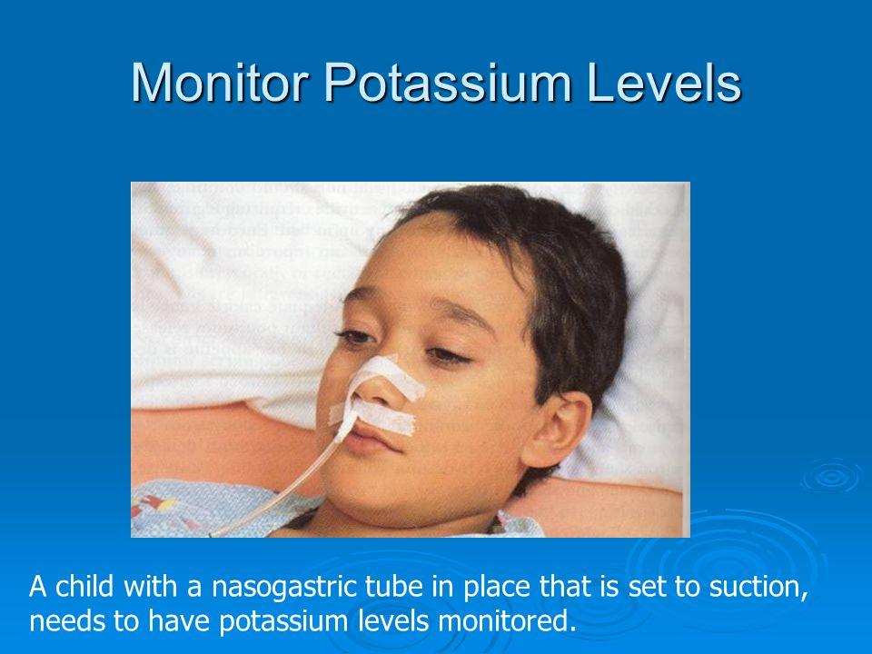 Monitor Potassium Levels