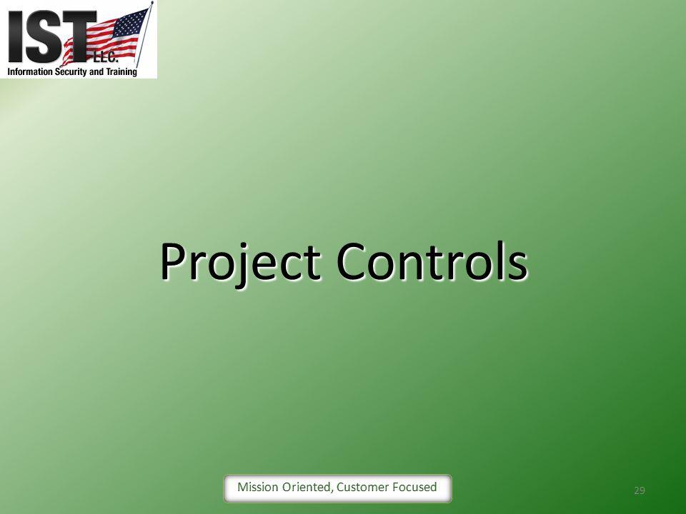 Project Controls