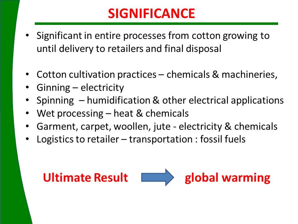 Ultimate Result global warming