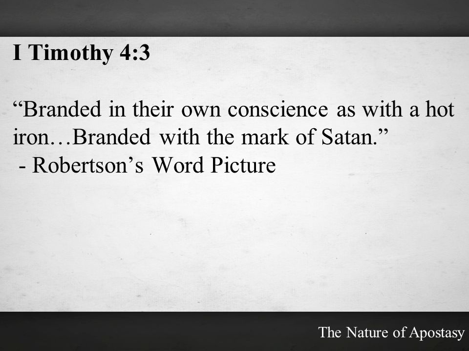 - Robertson's Word Picture