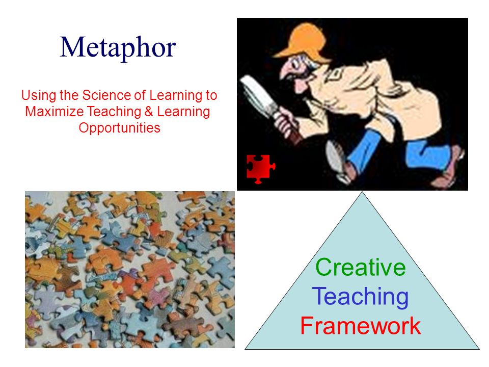 Metaphor Creative Teaching Framework Using the Science of Learning to