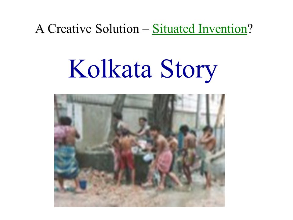 A Creative Solution – Situated Invention