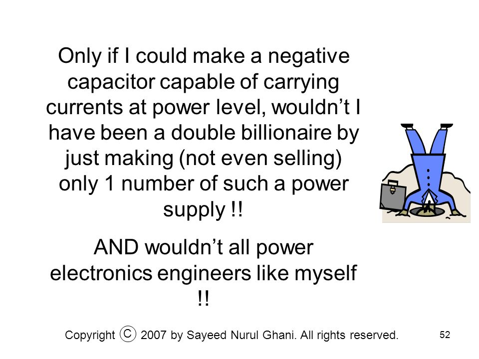 AND wouldn't all power electronics engineers like myself !!
