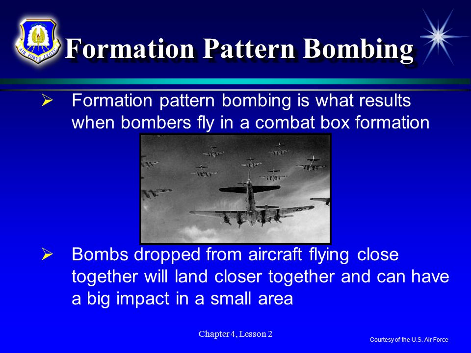Formation Pattern Bombing