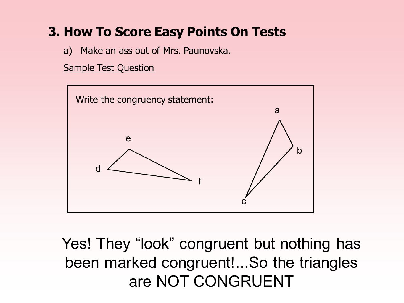 3. How To Score Easy Points On Tests