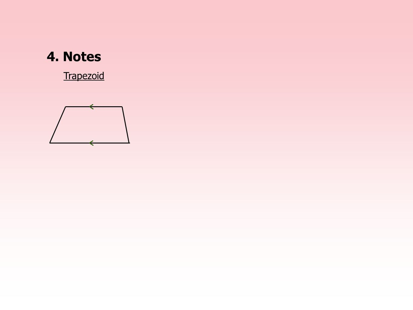 4. Notes Trapezoid