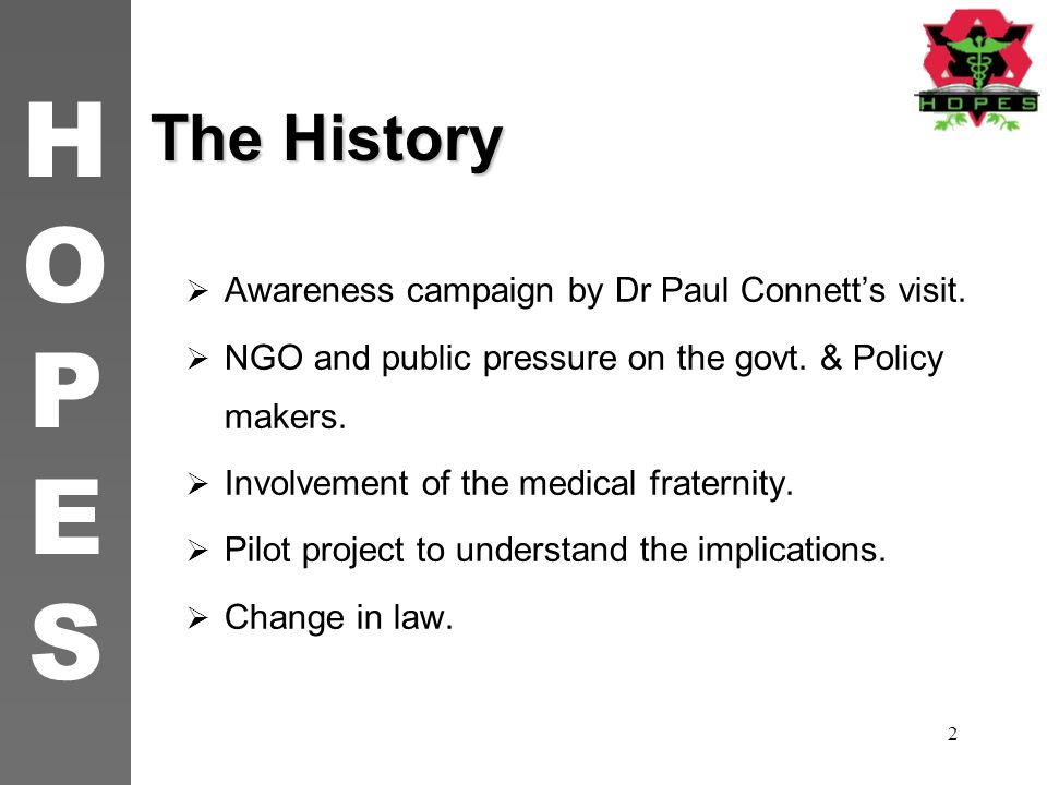 The History Awareness campaign by Dr Paul Connett's visit.