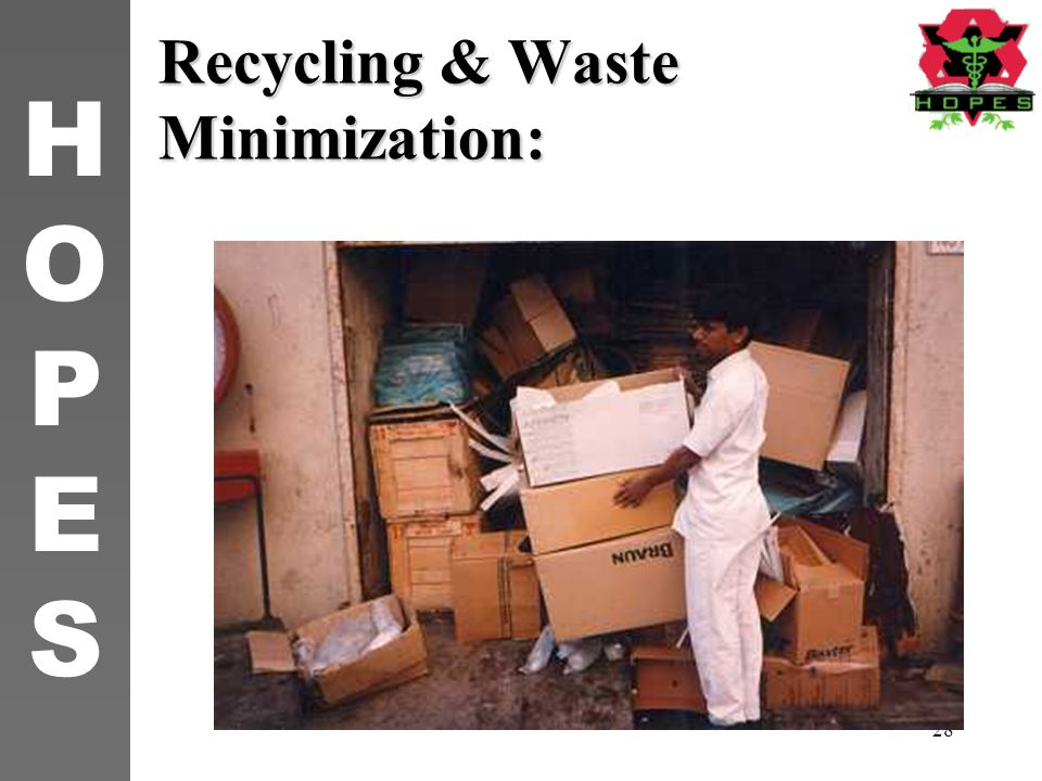 Waste minimising and recycle in construction