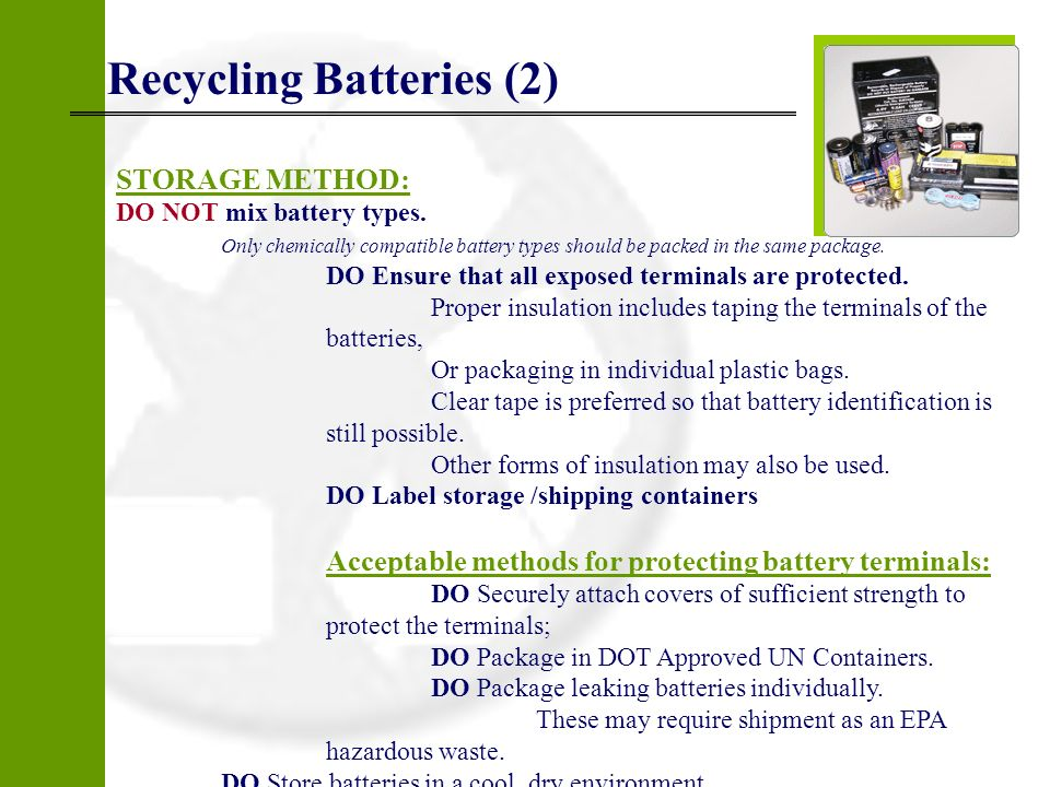 Recycling Batteries (2)