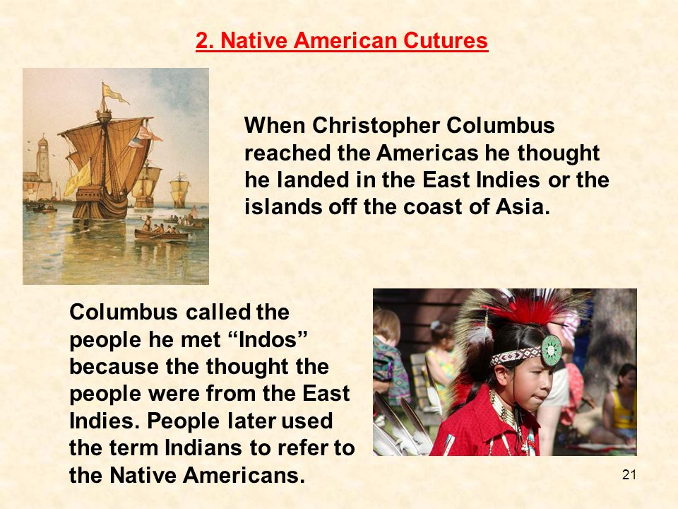 2. Native American Cutures