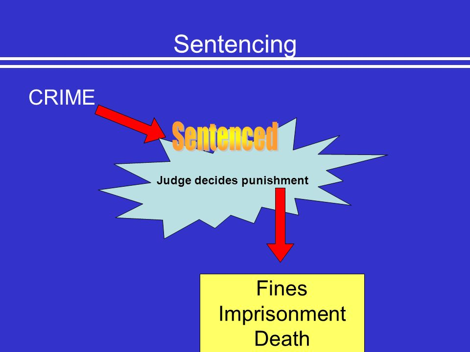 Judge decides punishment