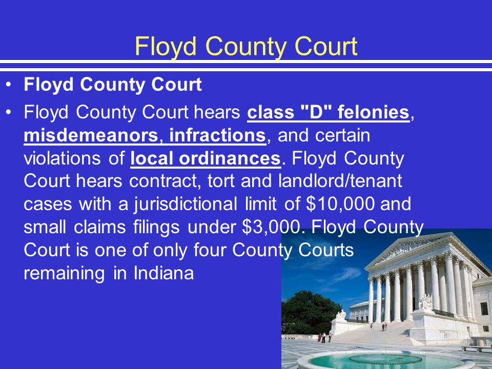 Floyd County Court Floyd County Court