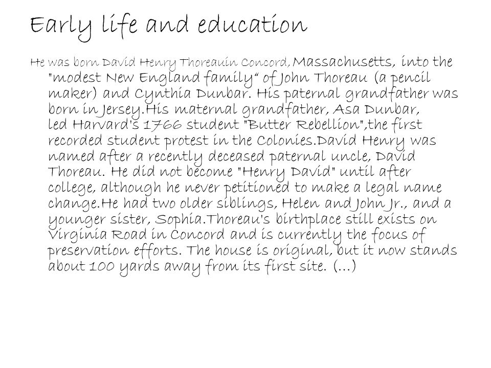 Early life and education