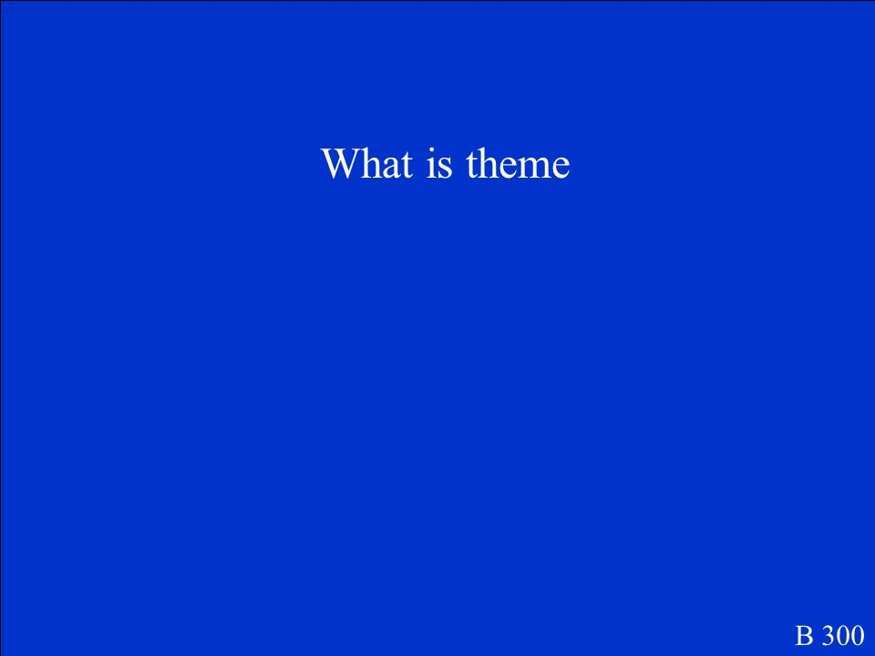 What is theme B 300