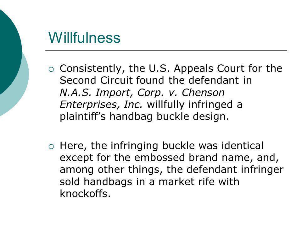 Willfulness
