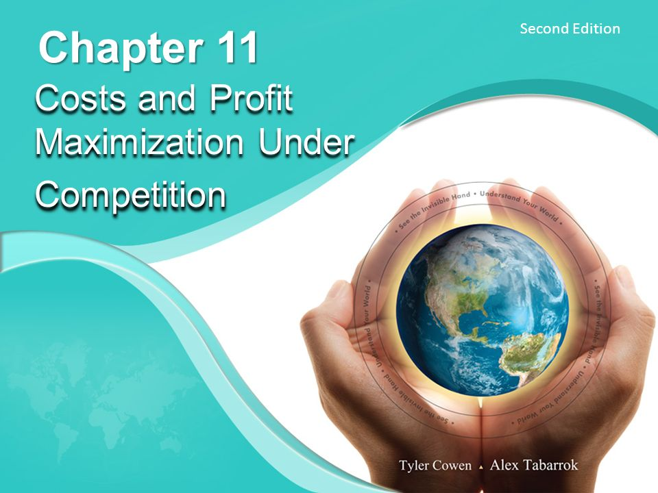 Costs and Profit Maximization Under Competition