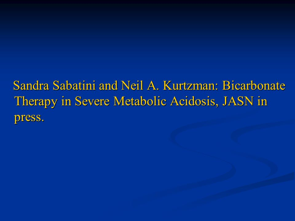 Sandra Sabatini and Neil A