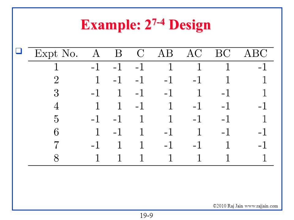 Example: 27-4 Design