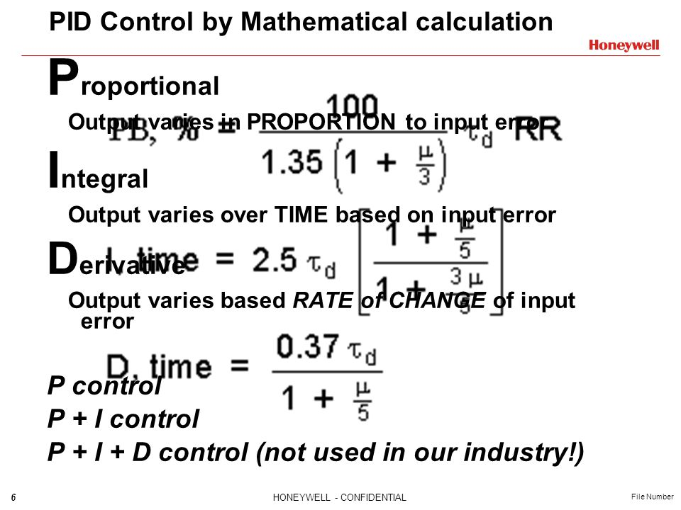 PID Control by Mathematical calculation