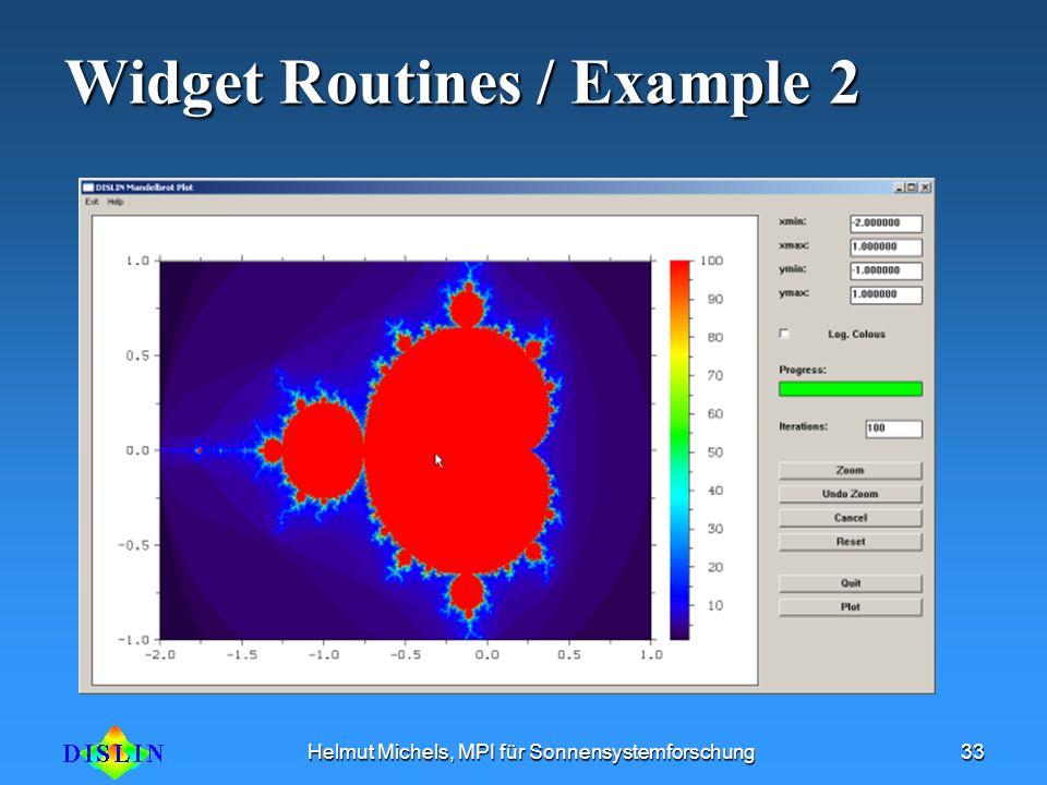 Widget Routines / Example 2