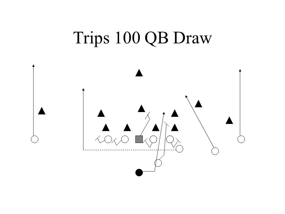 Trips 100 QB Draw