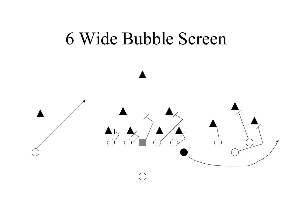 6 Wide Bubble Screen