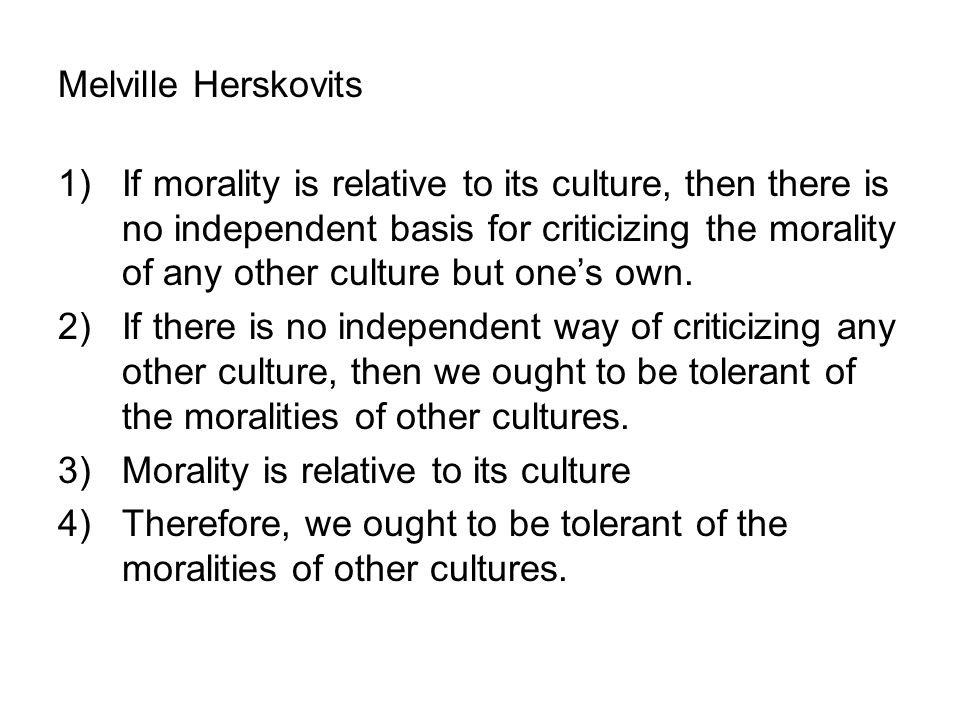 Melville Herskovits