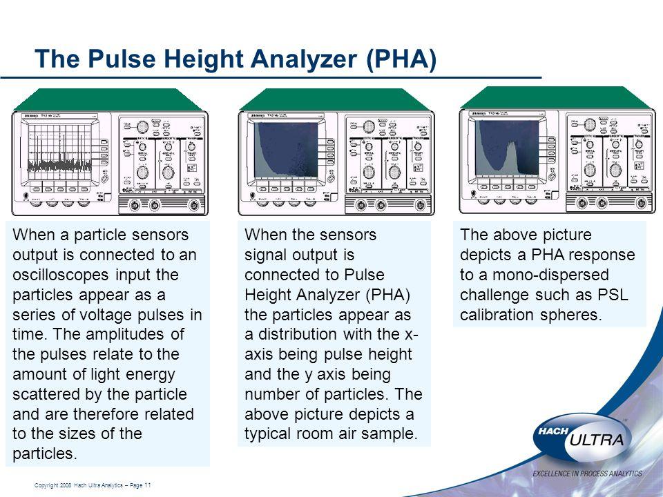 The Pulse Height Analyzer (PHA)