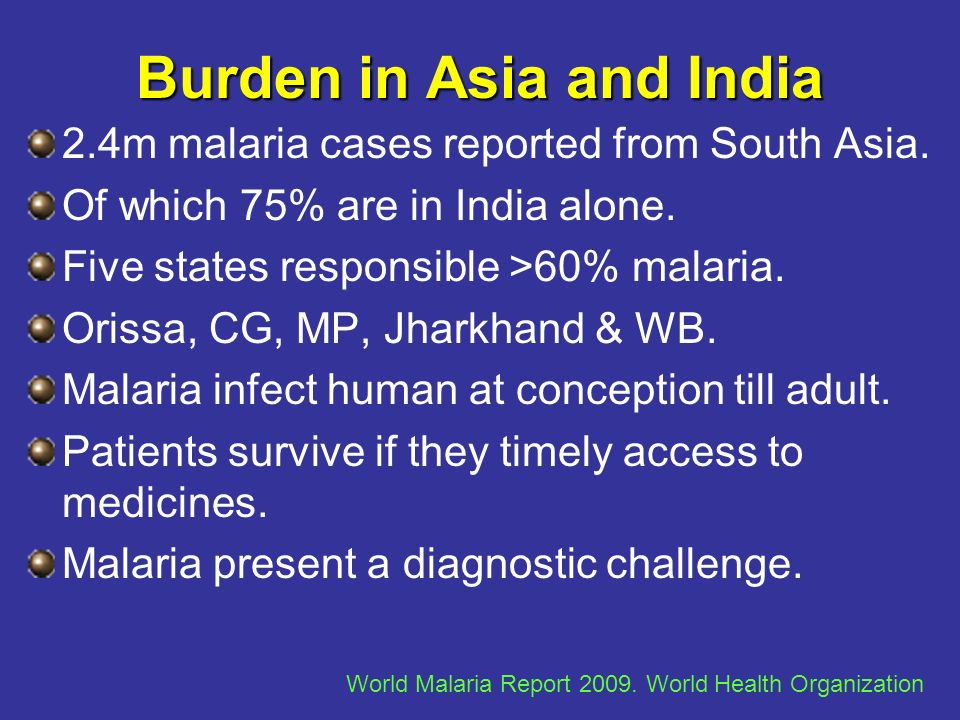 Burden in Asia and India